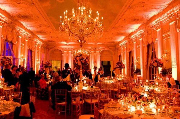Fancy reception design