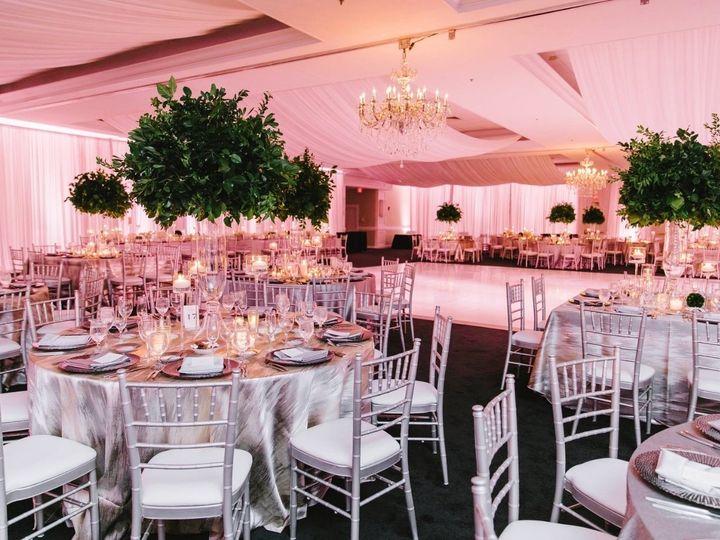 Tmx Chandeliers Ceiling Drape White Dance Floor Ambient Lighting And Perimeter Draping By Ormonde 0005 51 189907 157670592797455 Warren, RI wedding eventproduction