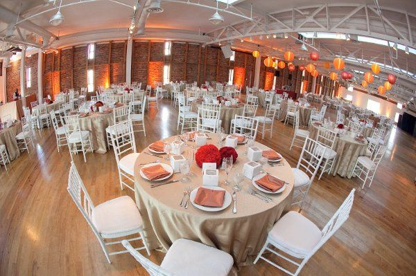 Wedding Reception in the JRVC 3rd Floor Banquet Room.  Image Courtesy of Brian Slanger Photography.
