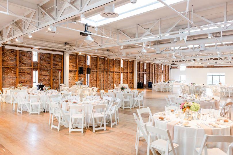 Reception in JRVC Banquet Room