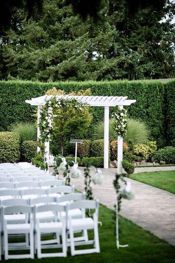 Wedding Ceremony Lawn