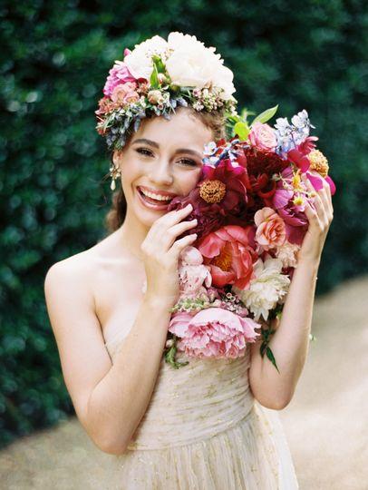 Emily Kaye Floral peonies