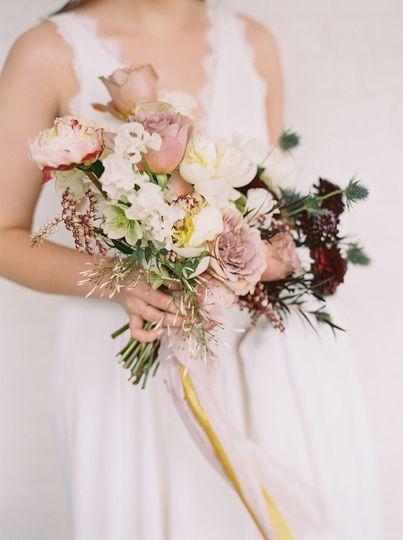 Emily Kaye Floral bride