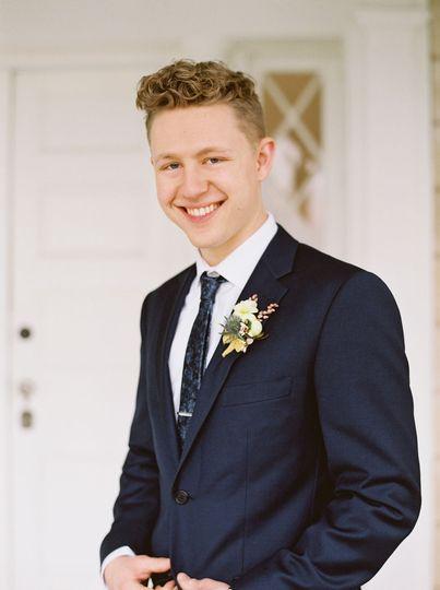Emily Kaye Floral groom