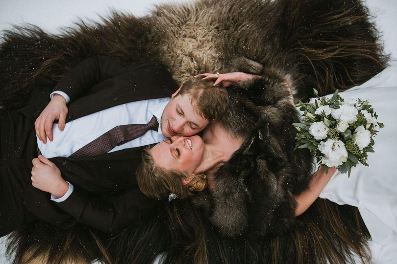 big lake alaska winter wedding92 51 1051017