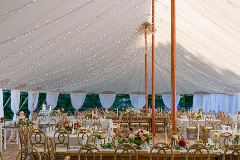 Tented Home Wedding