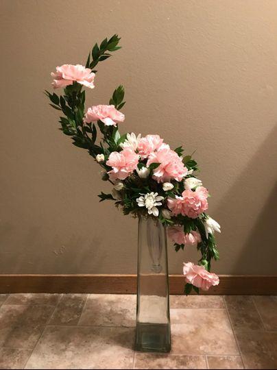 Uniquely-shaped bouquet