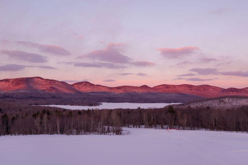Mountain & Lake Backdrop