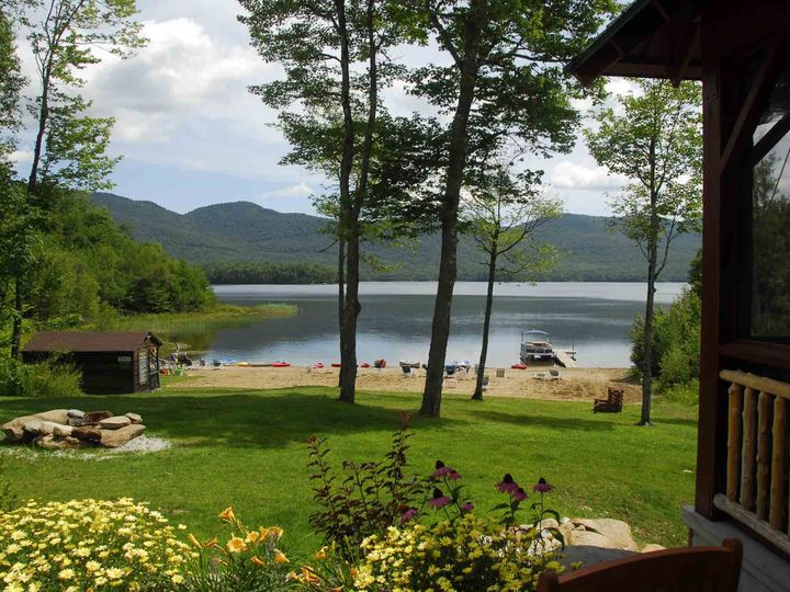 Tmx 1424791366533 View Of Beach From Pavilion Chittenden, Vermont wedding venue
