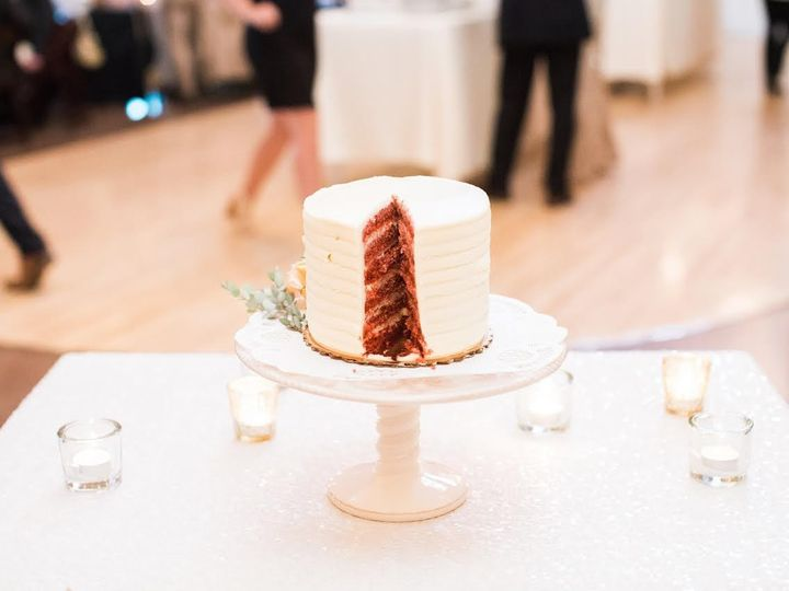 Tmx 1477423031965 Weddingcake20163 Iowa City, IA wedding catering