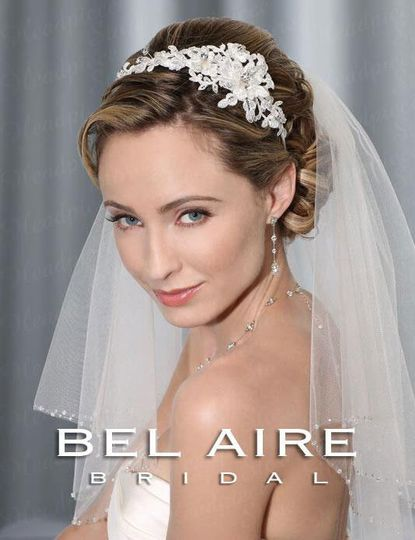 Bel Aire Bridal accessories and veils