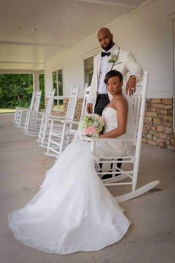 Bride and groom - Cooper's Photography