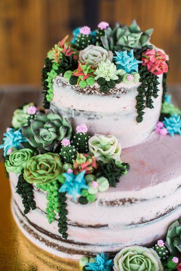succulent wedding cake 11 51 1914017 158767324883830