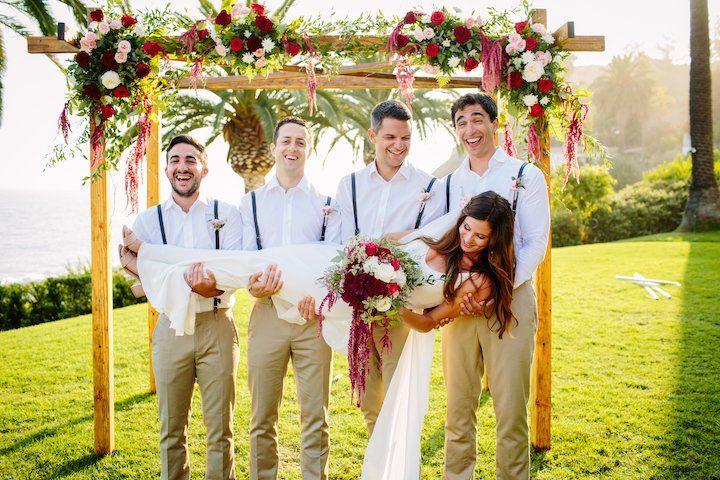 Bride and groomsmen | Scott Misuraca Photography