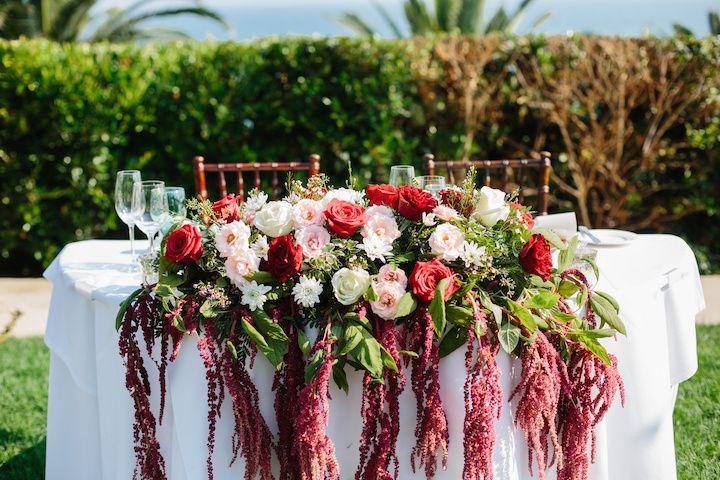 Sweetheart table | Scott Misuraca Photography
