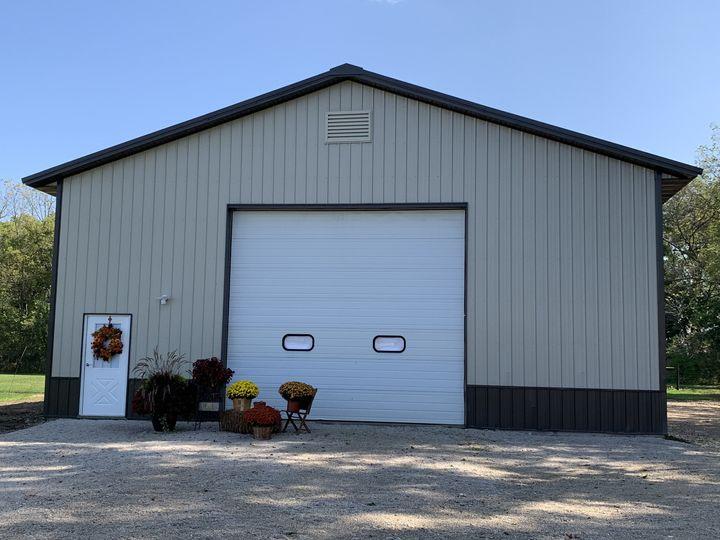 Back shed exterior
