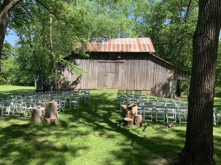 Outdoor barn space