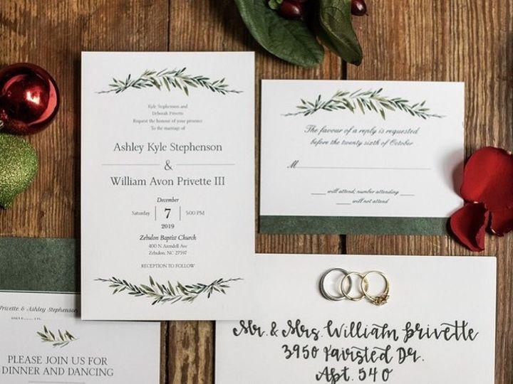Tmx 81033790 1448817628630393 1386151633372577792 N 51 1005017 160978740139497 Raleigh, NC wedding invitation