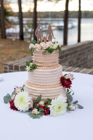 Captivating cake