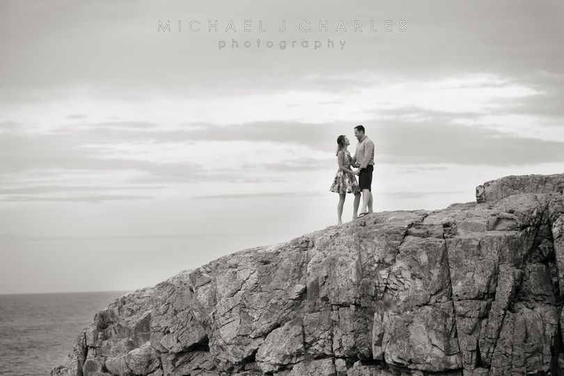 Engagement shoot on the rocks!