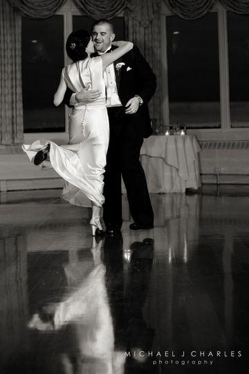 Nice reflecting dance floor