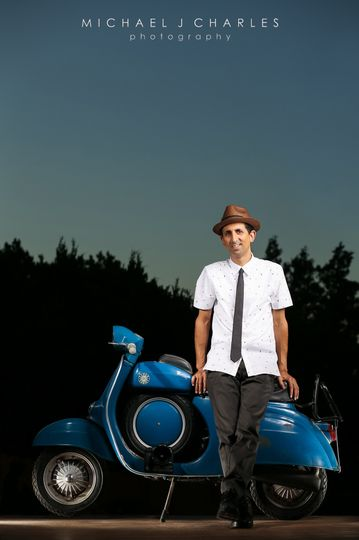 Me with my 1966 Vespa 90SS