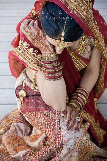 Indian wedding candid