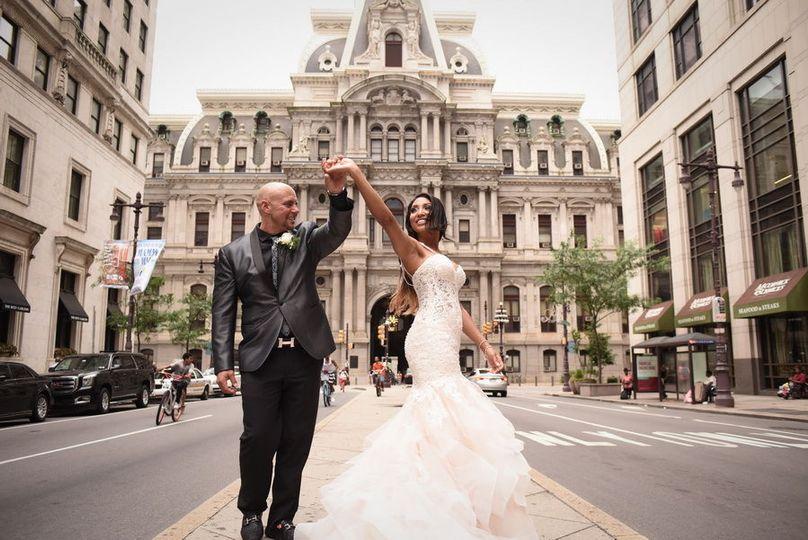 Broad Street Philadelphia, Loews Hotel Wedding