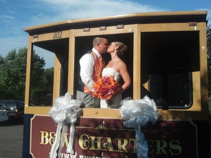 Wedding tram
