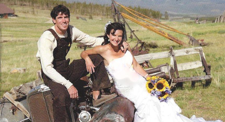 Beautiful Farm Wedding. Thanks for sending us your unique wedding photos.