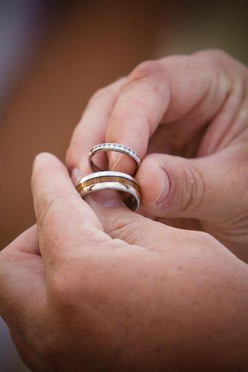 Hawaii Titanium Rings Jewelry Kailua Kona HI WeddingWire