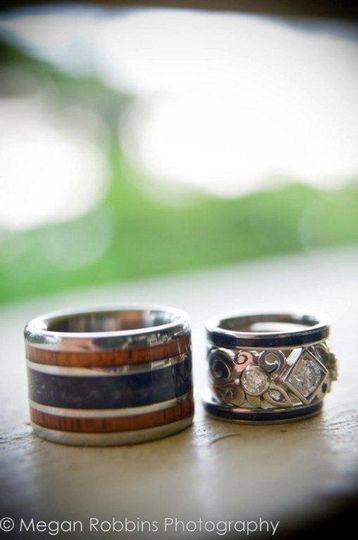 Hawaii titanium rings jewelry kailua kona hi for Kona wedding rings