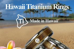 Hawaii Titanium Rings
