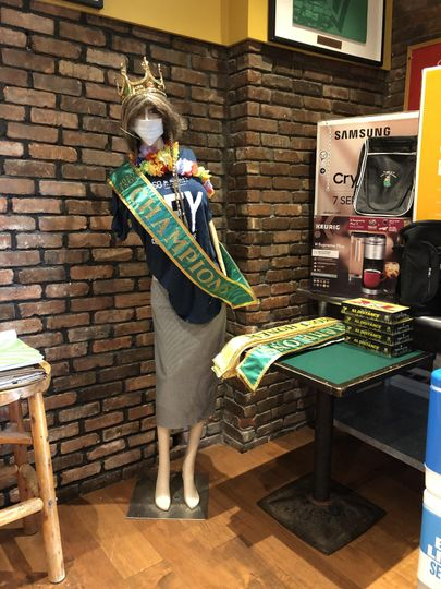 Champion mannequin
