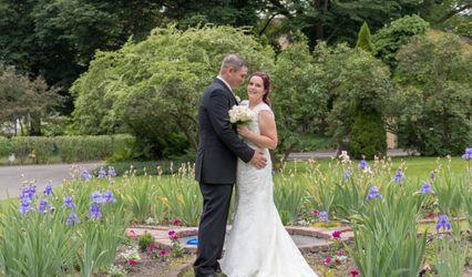 The wedding of Jon and Calista