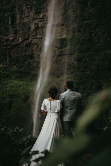 Katie + Nick, Watson Falls