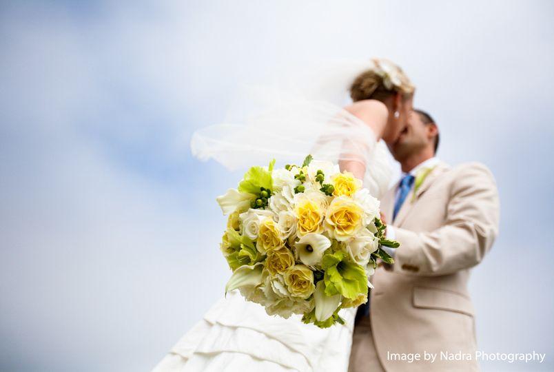 bouquet bride n groom