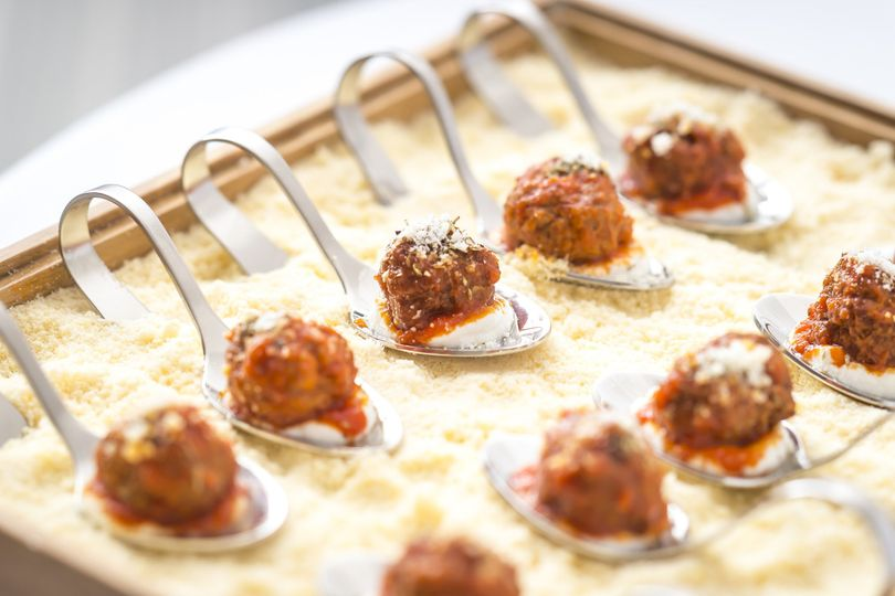 The william vale venue brooklyn ny weddingwire for Meatball canape