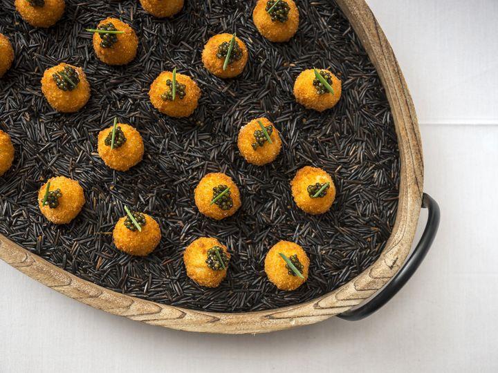 Tmx 1483996583390 Menu   Lemon Arancini With Caviar Canape Brooklyn, NY wedding venue