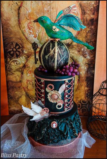Bliss Pastry Wedding Cake Deland Fl Weddingwire