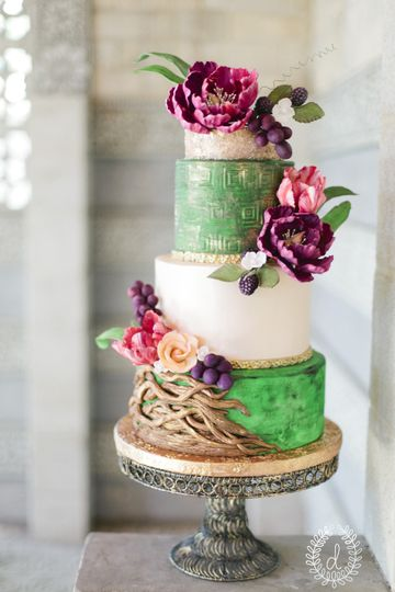 Cake Flower Decorating Hand Wheels