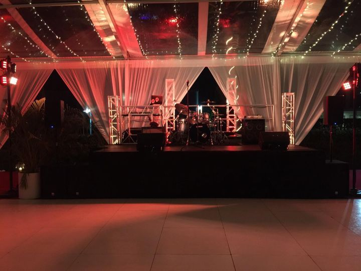 FE Stage & Band Setup