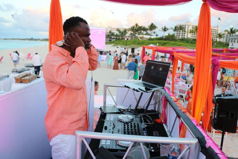 DJ Furze Ocean Club Beach
