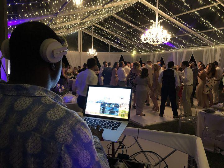 DJ Furze at Ocean Club Wedding