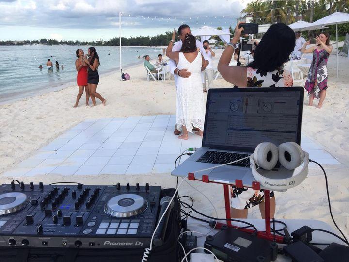 Baha Mar Beach Wedding Couple