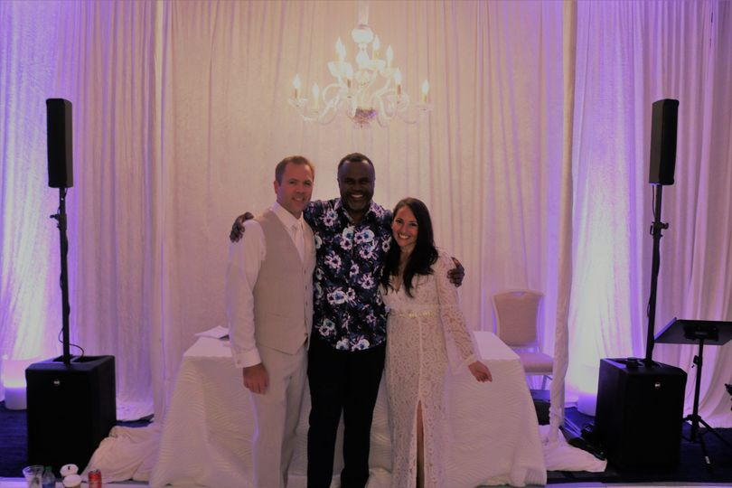 DJ Furze w/ Baha Mar Couple