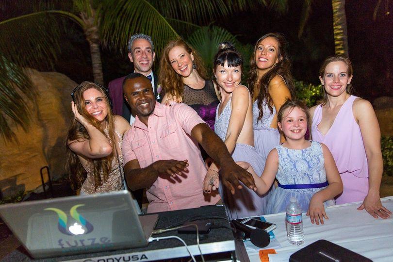 DJ Furze & Wedding Entourage