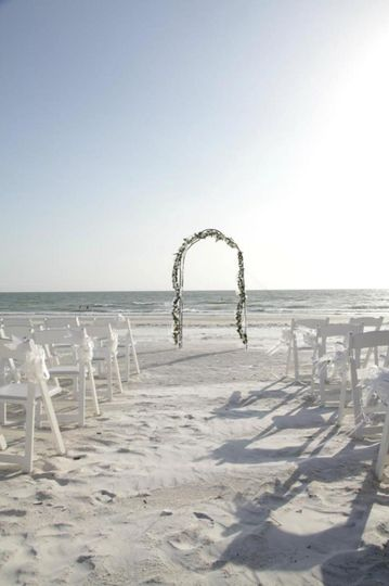 Your private beach-front ceremony