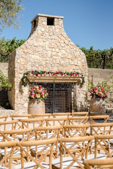Olive Grove - Ceremony
