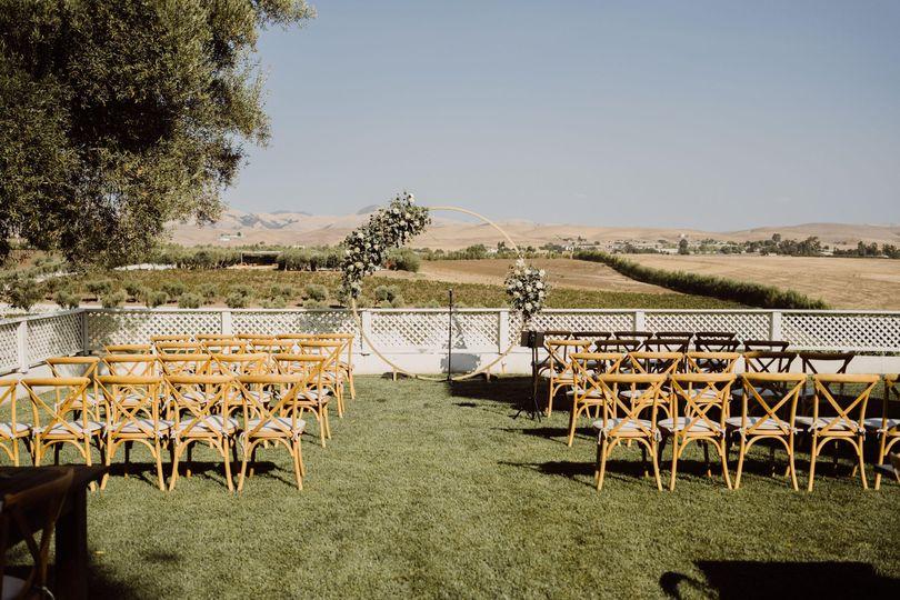 Estate Homes Intimate Ceremony